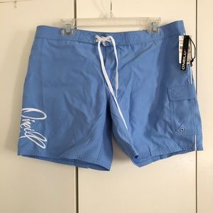 ONEILL Ladies Periwinkle Board Shorts Sz 13 -NWT!